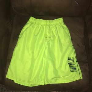 Boys sz large Nike swimming trunks